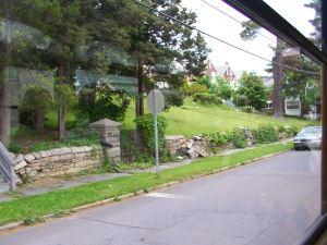 Oak Gardens, looking northeast.