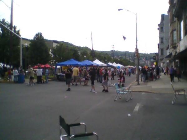 Vendors on Market Street